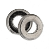 Metal Bead Round Flat 7X1mm with 3mm Hole Nickel